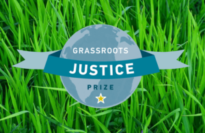 Watch the Grassroots Justice Prize Ceremony and JusticeForAll campaign launch