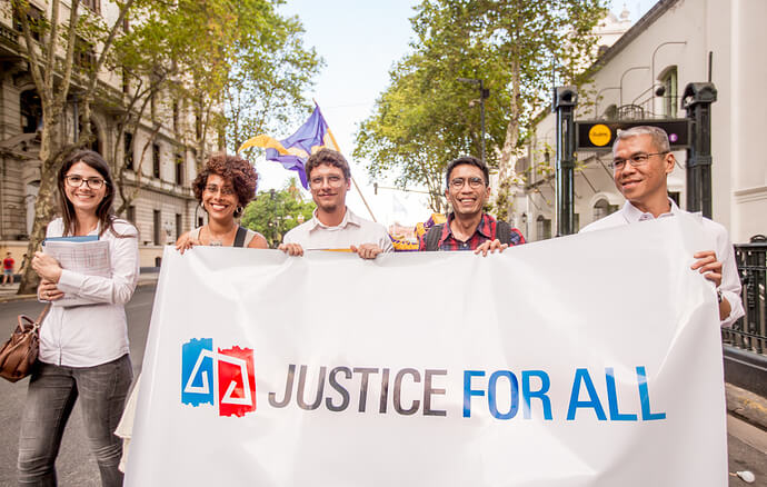 Petition: Tell world leaders to fund and protect justice defenders