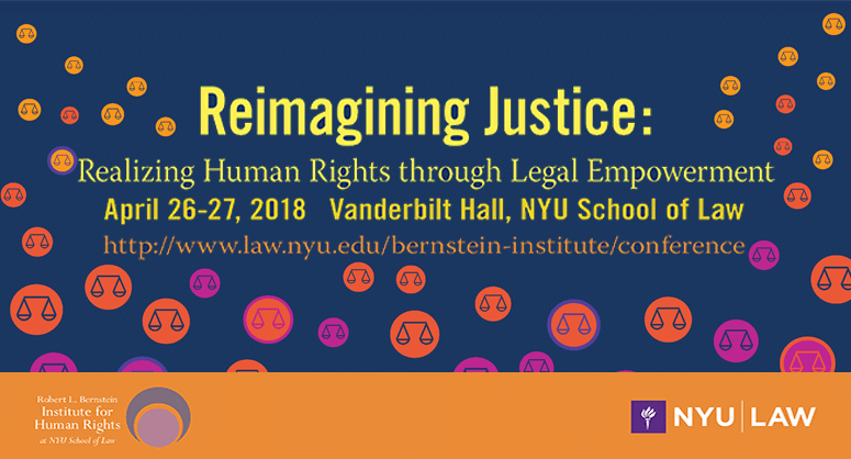 In-person event: Bernstein Institute for Human Rights Annual Conference