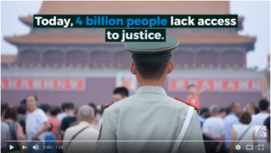 Video: Justice For All - A Campaign to Demand Financing and Protection for Justice Defenders
