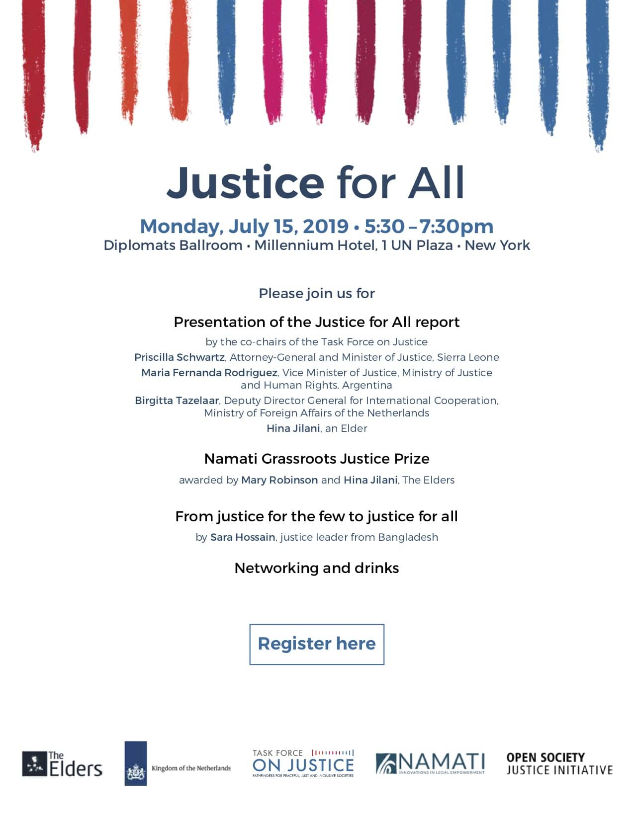 Justice For All featuring the Grassroots Justice Prize Ceremony