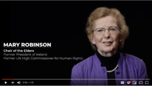 Video: The Elders Call for Greater Commitments to Achieve Justice For All
