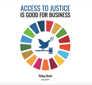 Policy Brief: Access to Justice is Good for Business